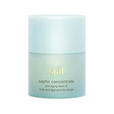 Själ Saphir Concentrate Anti-Aging Face Oil, crystal healing, beauty