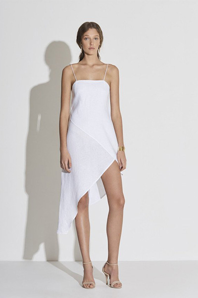sir the label, white linen dress, summer dresses, fashion, style