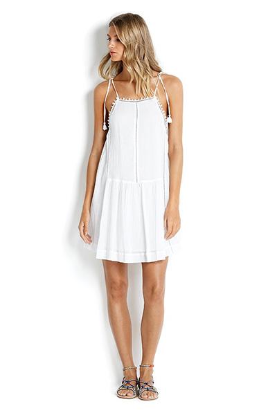 sea folly, white dress, summer dresses