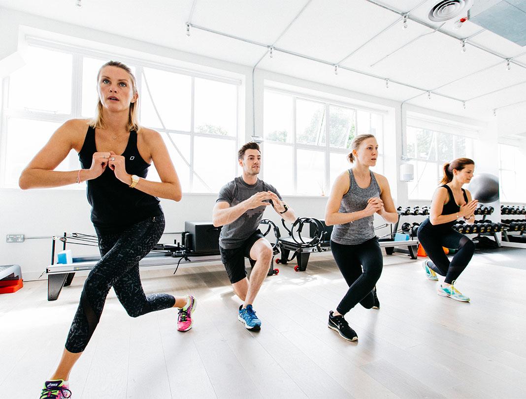 OPUS, wearable tech, fitness studio, London