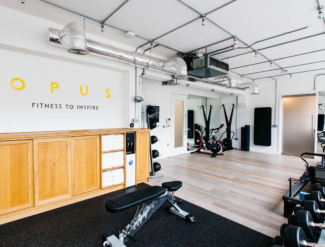 OPUS, fitness studio, London, wearable tech
