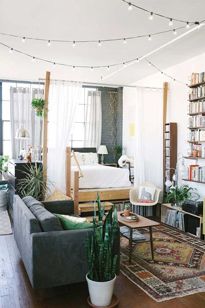 small apartment, declutter, lifestyle