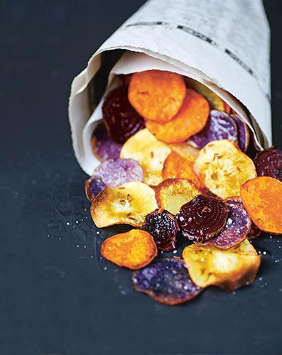 craving salt, potato chips, oven chips