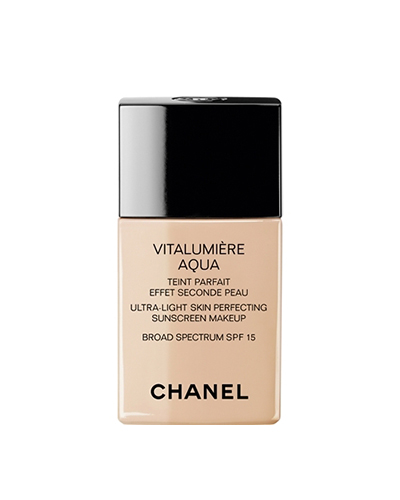 Chanel Vitalumière Aqua, dry skin, foundations