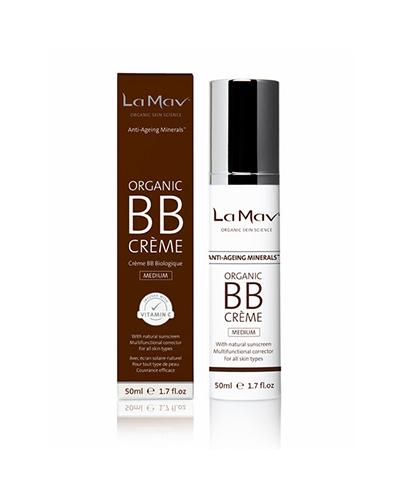 La Mav Organic BB Creme, dry skin, foundations