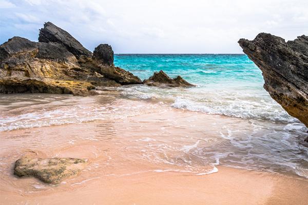 Bermuda, pink sand, beaches