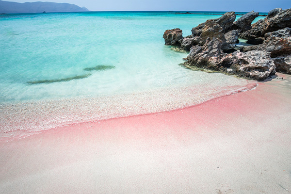 Elafonisi Lagoon, pink sand, beaches, travel