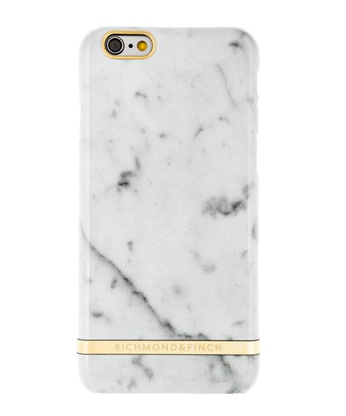 Richmond & Finch, white marble phone case, tech accessories