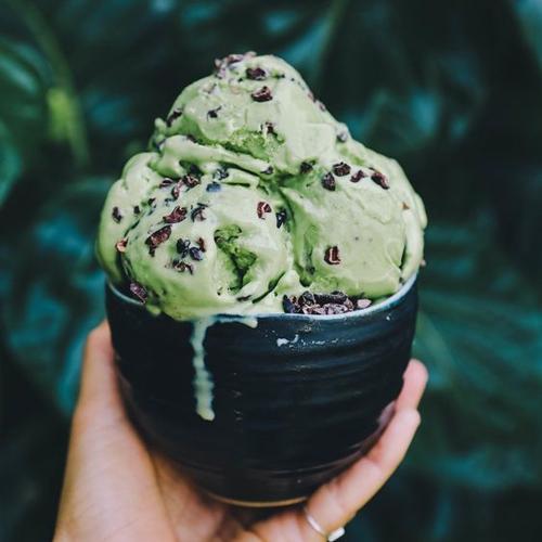 ACNT, mint choc vegan ice cream