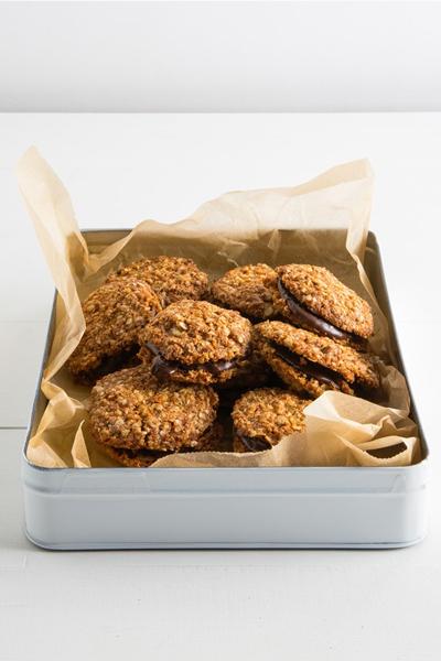Quinoa Anzac Cookies via Mindfood Mag