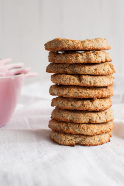 The Queen of Delicious' 3-Ingredient Coconut Cookies, Anzac recipe