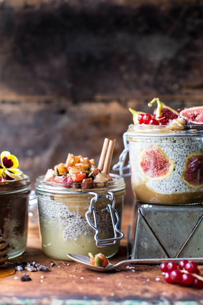 Half Baked Harvest Chia Pudding