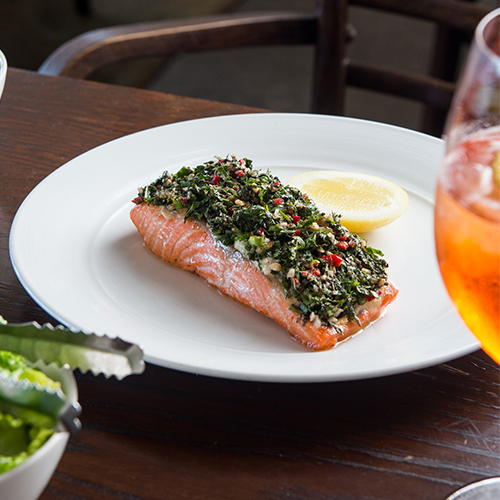 The Fish House Baked Ocean Trout