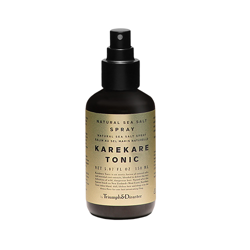 Triumph & Disaster Karekare Tonic, sea salt spray, beauty product