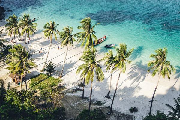 vegetarian, beach, Thailand, travel, Asia, wellness, food & drink, holiday