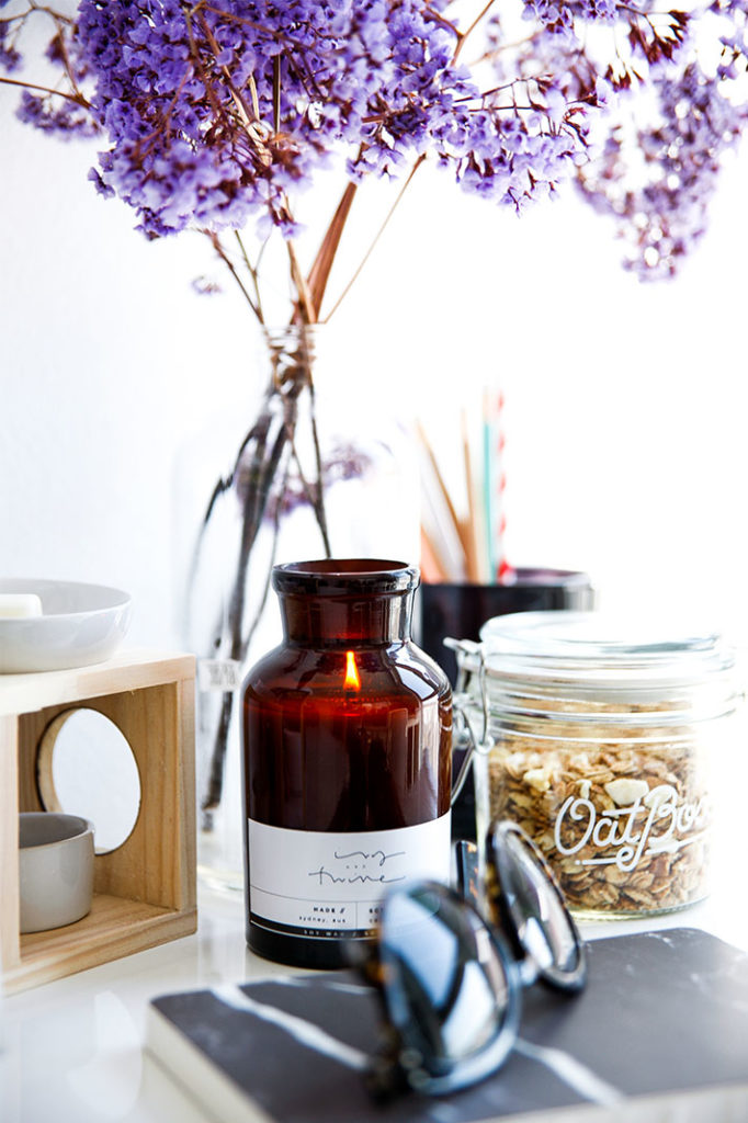 Ivy and Twine candle from Etsy