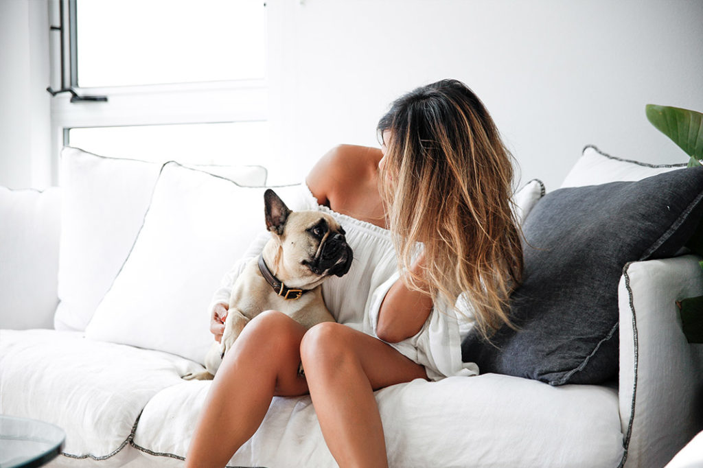 @BiancaMayCheah and her pup @SporteTheFrenchie