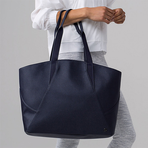 gym bag, Lululemon, splurge