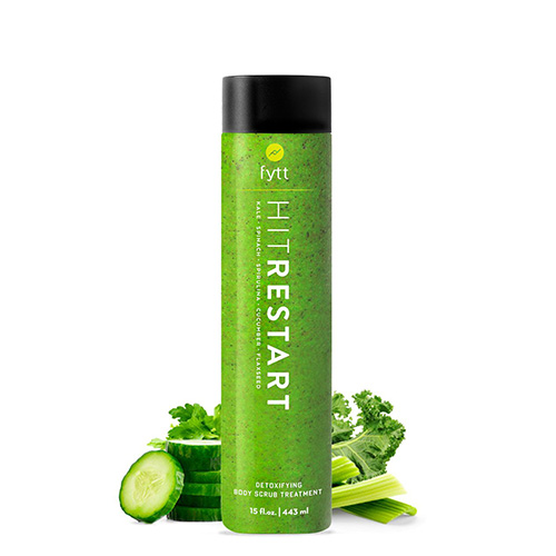 Fytt Detoxifying Body Scrub Treatment, shelves, beauty