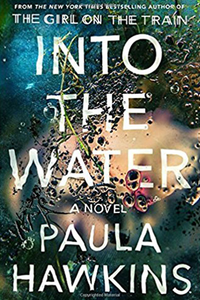 books, Into The Water, reading