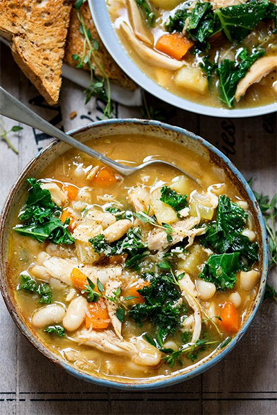 chicken soup, sick, fitness, exercise