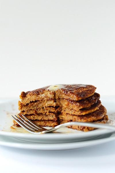 Vegan Pumpkin Spice Pancakes, recipes