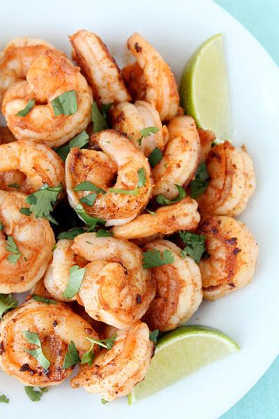 prawns, recipes, healthy