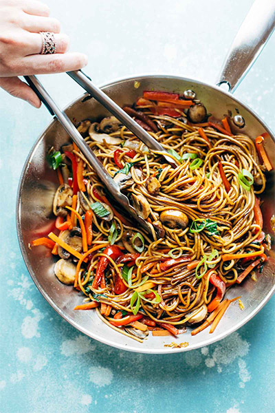 Lo Mein, healthy recipes