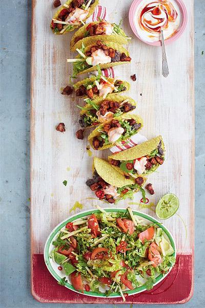 Pork Tacos, healthy recipes
