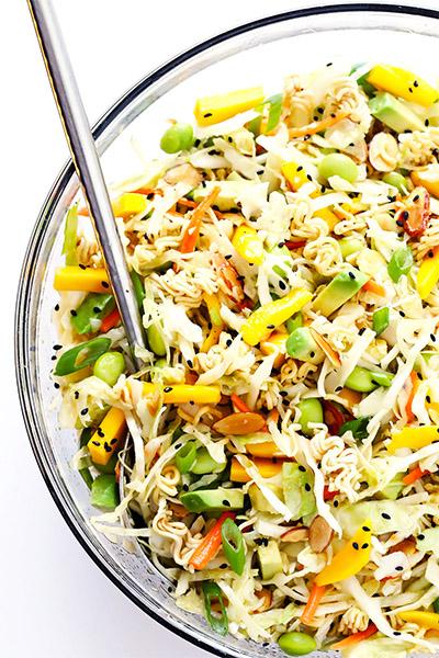 Crunchy Asian Ramen Noodle Salad, recipes