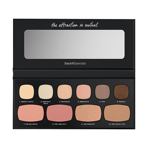 Bareminerals, eyeshadow palettes, neutral, beauty