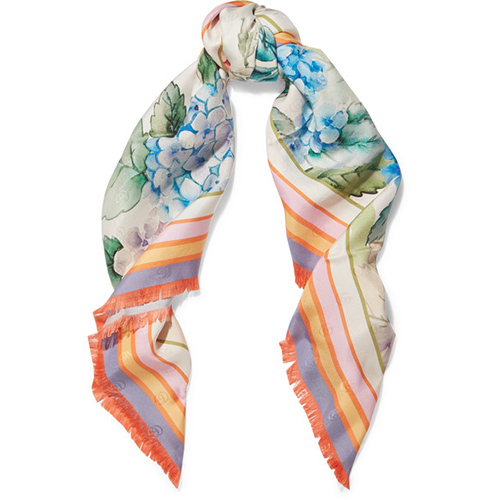 Gucci, scarves, fashion, style