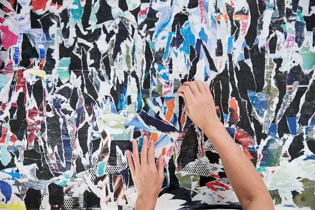 lululemon new New York Chaos print