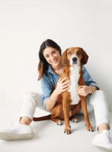 Gabby Slome foudner of Oliie dog food