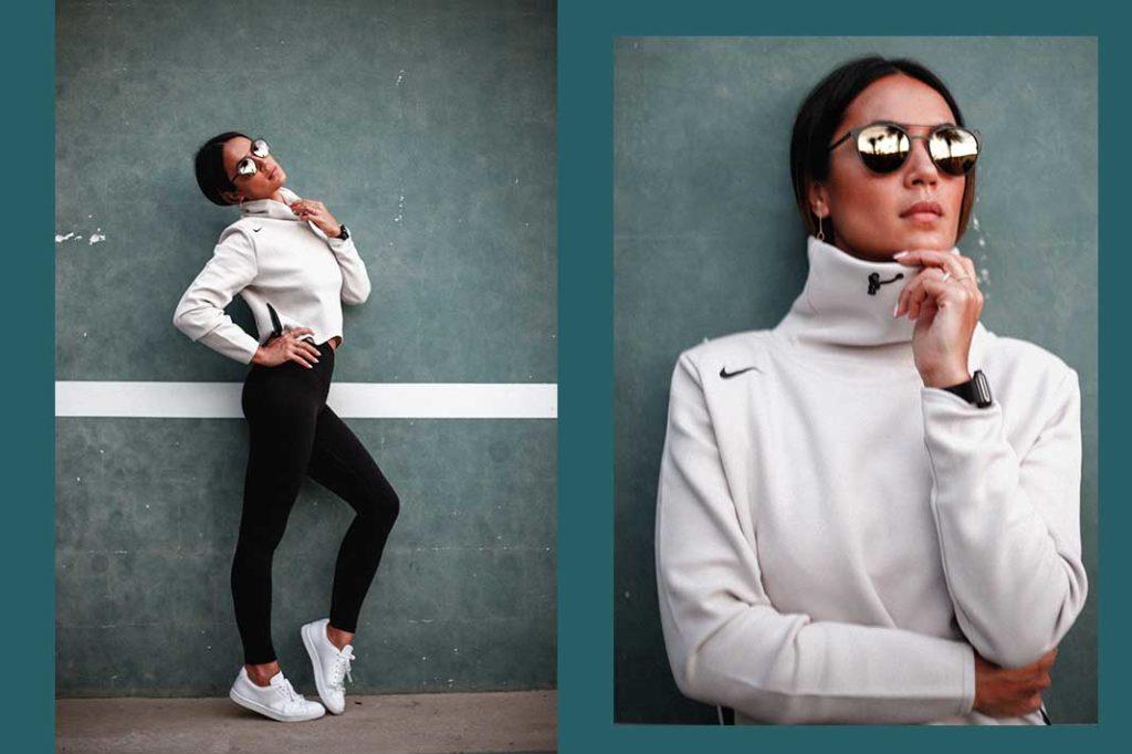 Bianca Cheah wearing Polaroid Eyewear