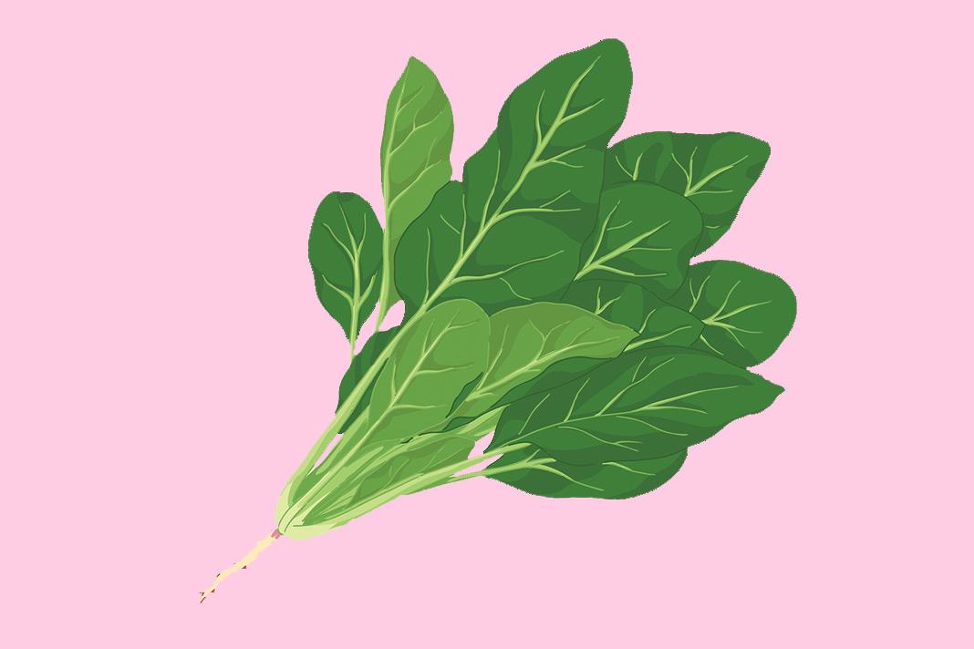 Spinach, leafy greens, anti-inflammatory