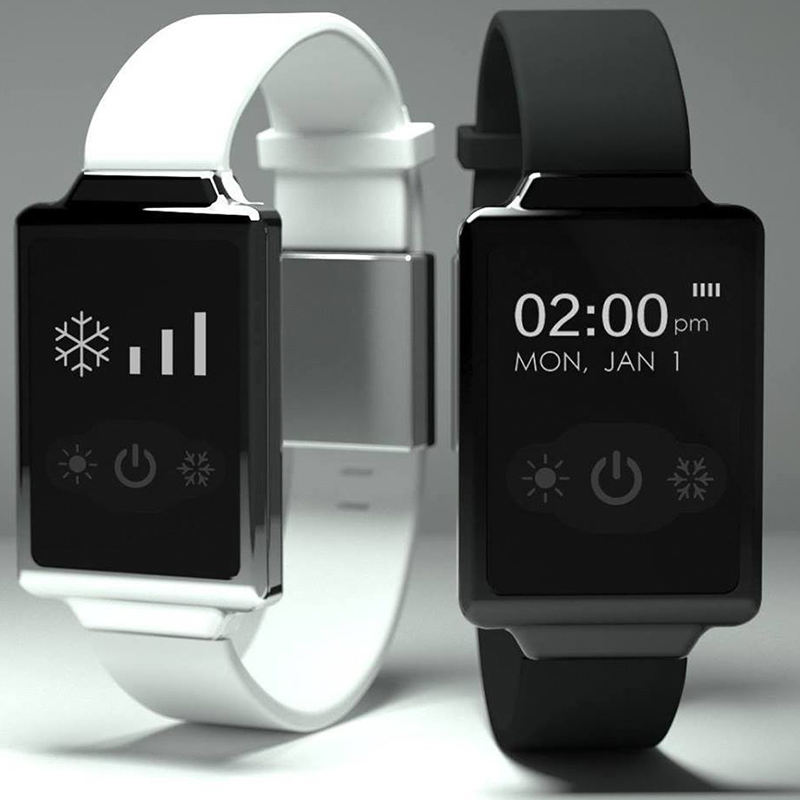 air con smart watch