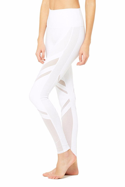Alo Yoga High-Waist Epic Legging in White
