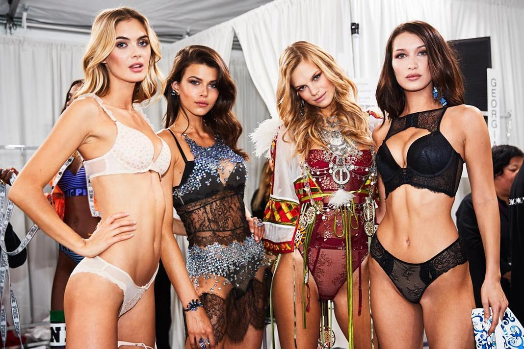 How The Victoria's Secret Models Get In Shape Before The Show