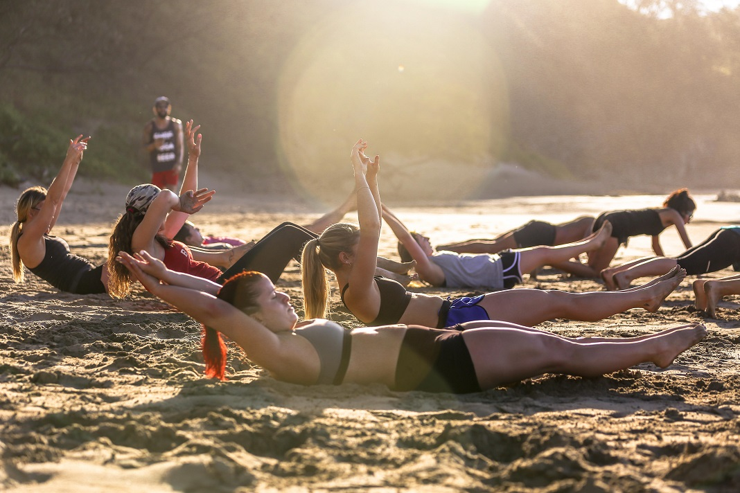 Surf Yoga Beer