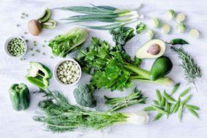 dark leafy greens liver function