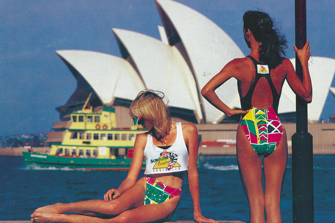 dd69f83afd2c9 Flashback: Seafolly Launches Retro 80s Swimwear Collection