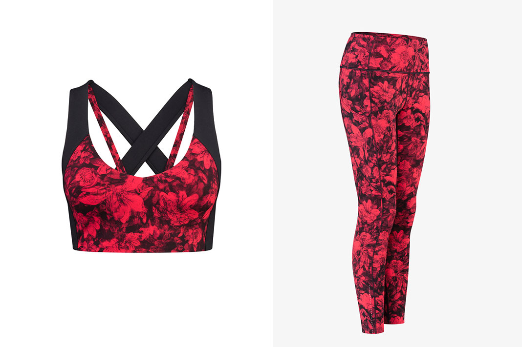 lululemon's newest digital print celebrates traditional elements of the New Year Festival and Chinese culture