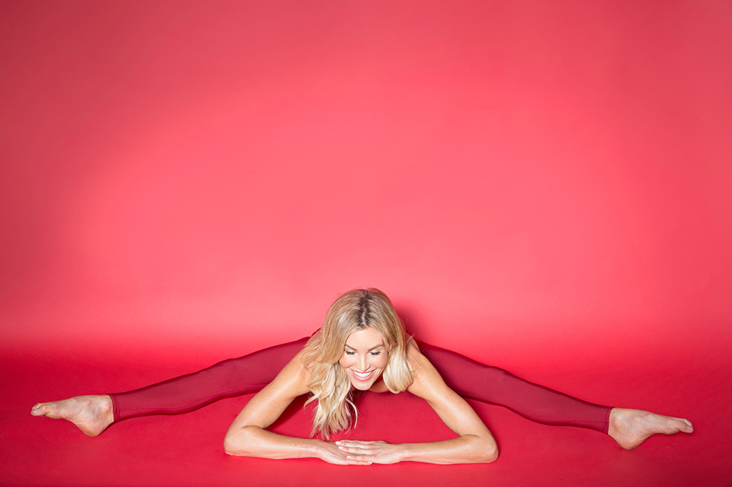 sexy yoga pose