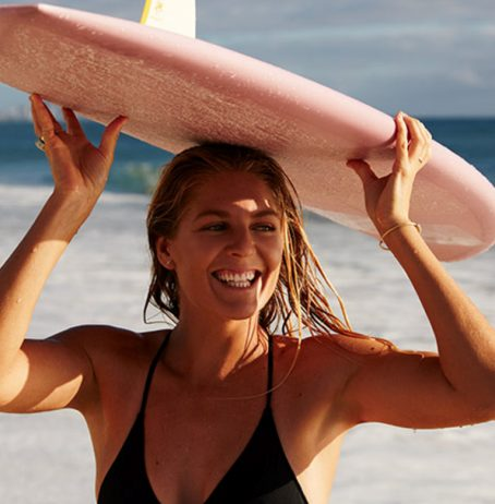 Watch: Surfing Champion Stephanie Gilmore In New High-Protein Yoghurt Campaign