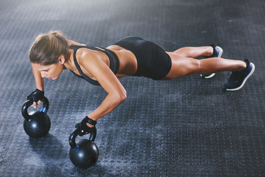 Here's A 20 Minute Full Body Workout You Can Do With One Kettlebell