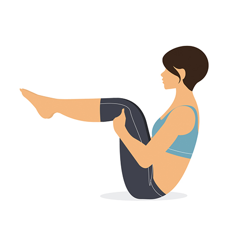 Yoga poses for thyroid