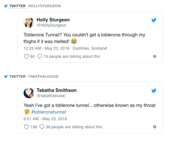 toblerone tunnel