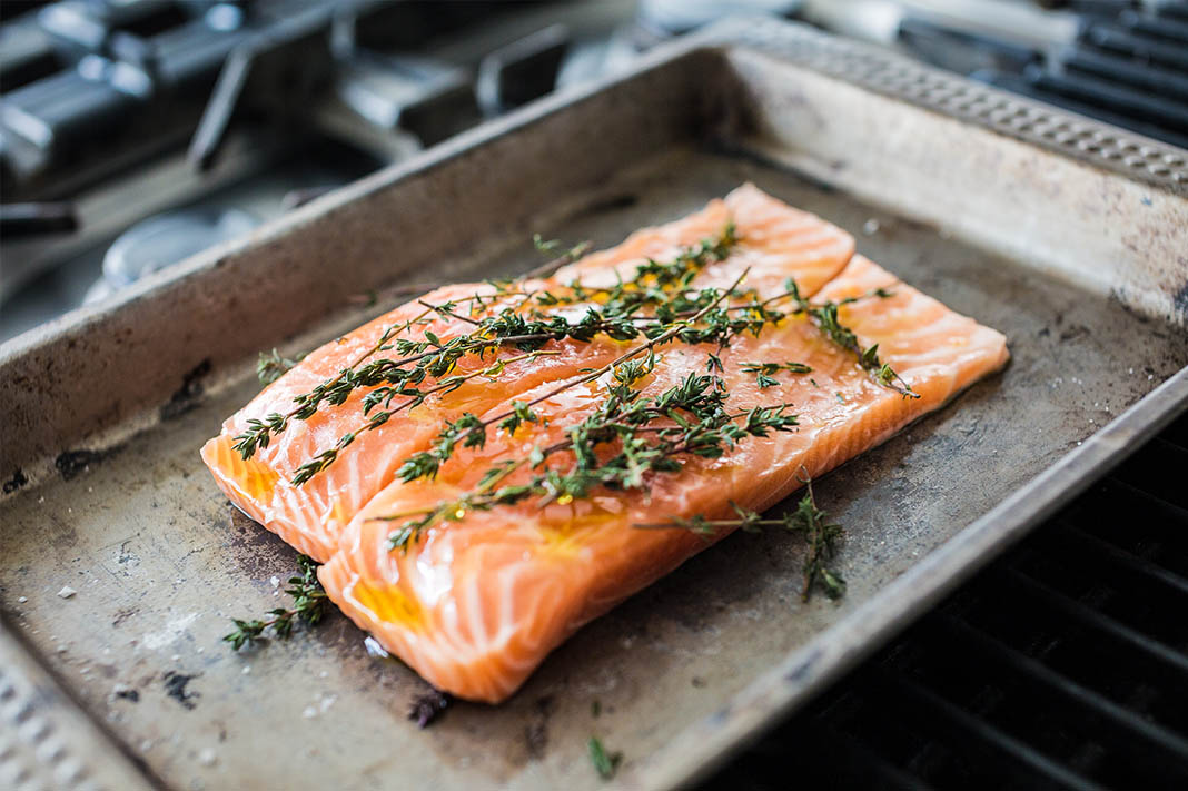 Hemp Salmon Recipe
