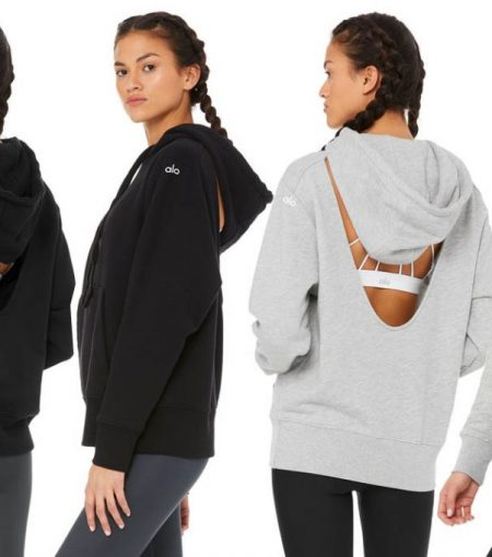 We're Calling It—This Open-Back Hoodie By Alo Yoga Is The Must-Have Sweater Of The Season